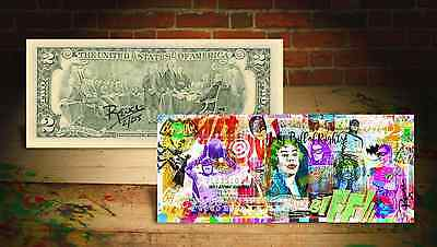 BATMAN * HOLY BILL OF RIGHTS * $2 Legal Tender U.S. Bill SIGNED & Numered RENCY