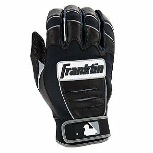 Franklin Sports - CFX Pro Batting Gloves Youth Medium Floating Thumb Technology