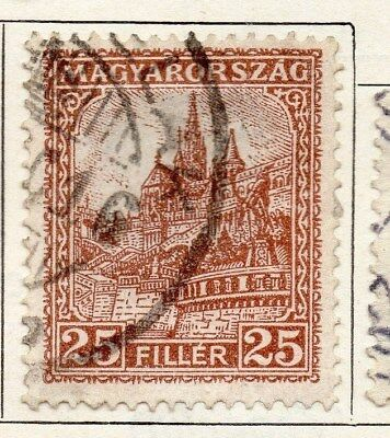 Hungary 1926 Early Issue Fine Used 25f. 098277