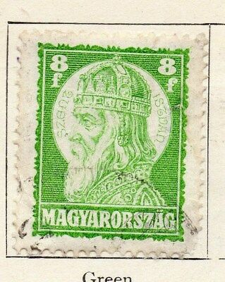 Hungary 1928 Early Issue Fine Used 8f. 098286