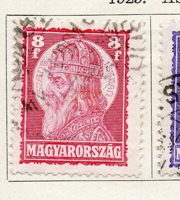 Hungary 1929 Early Issue Fine Used 8f. 098287