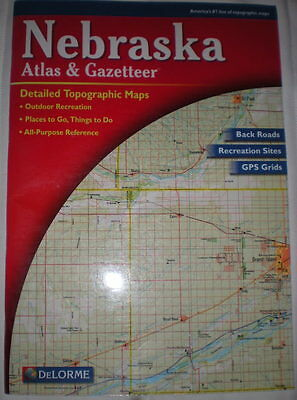 Nebraska Atlas & Gazetteer, by DeLorme (2000 Edition)
