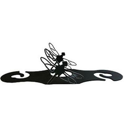 Village Wrought Iron WRC-71 Dragonfly Wine Caddy • AUD 84.27