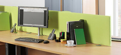 Straight Economy Desk Mounted Screen ES800S 800mm