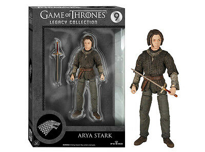 Funko Legacy Collection Game Of Thrones Arya Stark Articulated Action Figure Toy