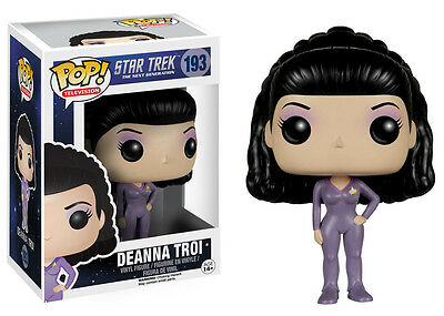 Funko Pop TV Star Trek The Next Generation - Deanna Troi Vinyl Action Figure Toy