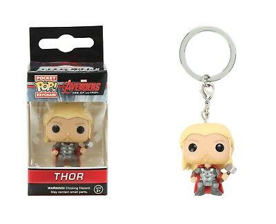 Funko Pocket Pop Keychain Marvel Avengers Age Of Ultron: Thor Action Figure Toy