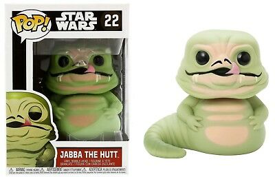 Funko Pop Star Wars Jabba The Hutt Licensed Vinyl Action Figure Bobble Head Toy
