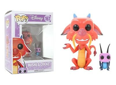 Funko Pop Disney: Mulan - Mushu and Cricket Vinyl Figure Item No. 5898