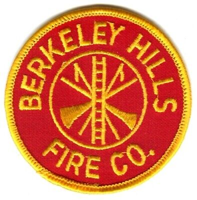 Berkeley Hills Fire Company Department Dept FD Rescue EMS Patch Pennsylvania PA