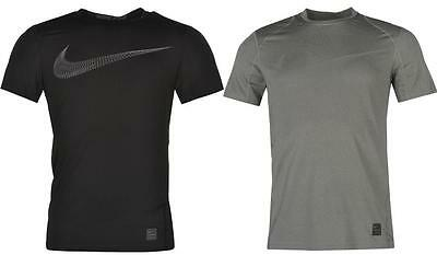 Nike Pro Swoosh Short Sleeve T Shirt Mens Dri-Fit Sports Gym Top ~All size S-XL