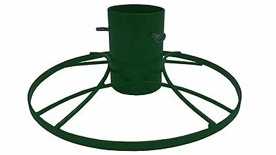 Bosmere 4-inch Contemporary Christmas Tree Stand with Green Sparkle
