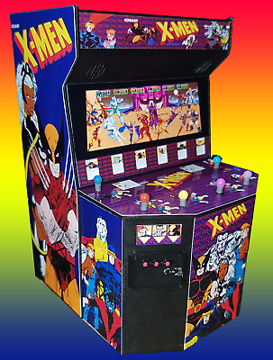 Mini X-men 6 Player Arcade Cabinet Collectible Display
