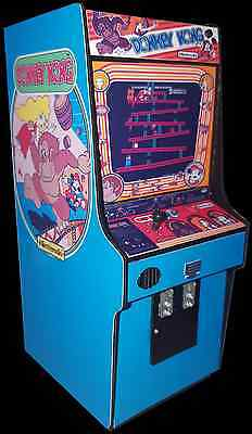 Mini Donkey Kong Arcade Cabinet Collectible Display