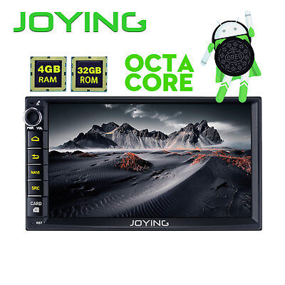 "Joying RAM 2GB HD 7"" Android5.1 2din Quad Core Car stereo radio GPS Navi DAB+ BT"