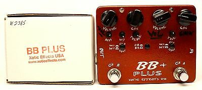 used Xotic Effects BB Plus, Excellent condition with Box