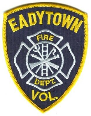 Eadytown Volunteer Fire Department Dept EVFD Rescue EMS Patch Pennsylvania PA -