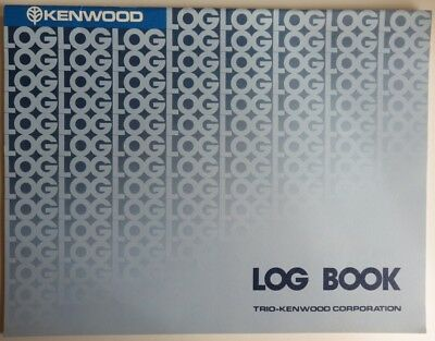 1981 Kenwood Partially Used Amateur Radio Log Book              (Inv12638)