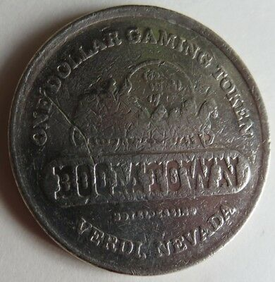 Vintage Boomtown Nevada Casino $1 Gaming Token          (Inv12604)