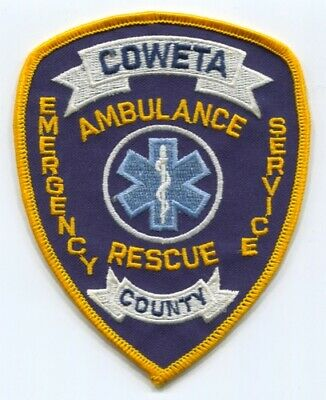 Coweta County Ambulance Rescue EMS Patch Georgia GA - SKU61
