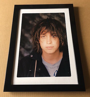 2002 The Strokes Julian photo JAPAN magazine pinup mini poster page FRAMED s4r