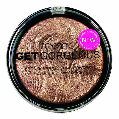 Technic Get Gorgeous Bronze Highlighting Powder Highlighter Shimmer Bronzer