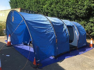Freedom Trail Bhutan Large 6 six berth man person Family Tunnel Tent RRP £250.00