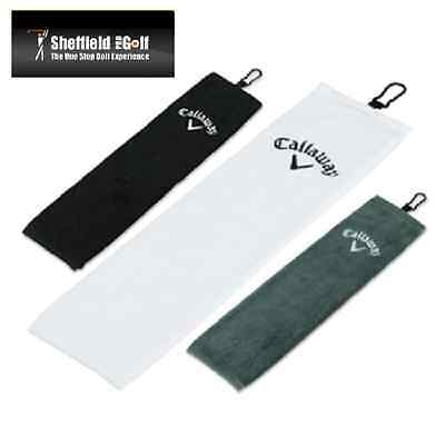 'NEW 2016' Callaway Cotton Tri-Fold Towel - Cheapest Uk Price