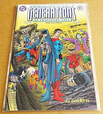 DC COMICS; SUPERMAN / BATMAN GENERATIONS BOOK 2 of 4  NEW/UNREAD HIGH GRADE NM