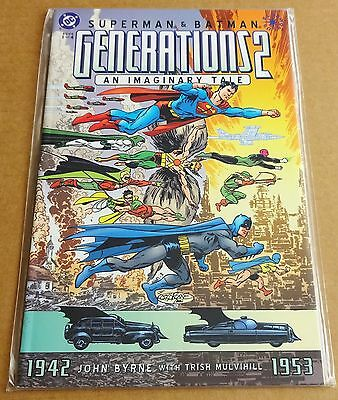 DC COMICS; SUPERMAN / BATMAN GENERATIONS 2 BOOK 1 of 4  NEW/UNREAD HIGH GRADE NM