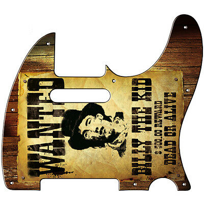 "Design-Pickguard ""Wanted"" für TL"