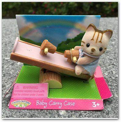 Sylvanian Families 5CM Cat Seesaw action figure