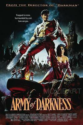 Army Of Darkness Vintage Movie Poster Film A4 A3 Art Print Cinema