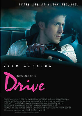 Drive (2011) V2 - A1/A2 POSTER **BUY ANY 2 AND GET 1 FREE OFFER**
