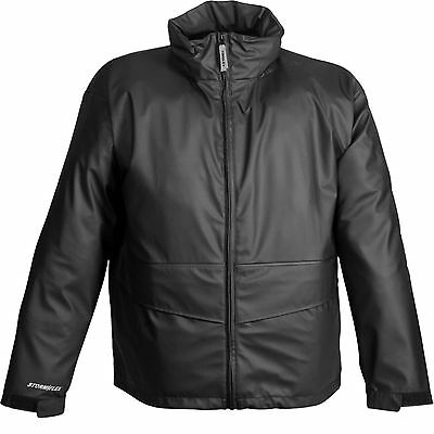 Tingley Rubber J67113 Storm Flex Jacket with Hood, Large, Black