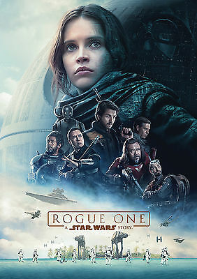 Rogue One: A Star Wars Story (2016) V2 - A1/A2 POSTER *BUY ANY 2 AND GET 1 FREE*
