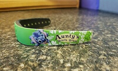 Rare DISNEY MAGIC BAND EXCLUSIVE TO DISNEY AULANI in Hawaii, Aunty's Beach House
