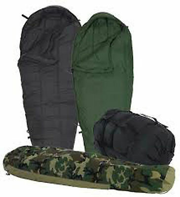 EXCELLENT 4-Piece Modular Sleep System MSS Military Sleeping Bag ECWS -30 USGI