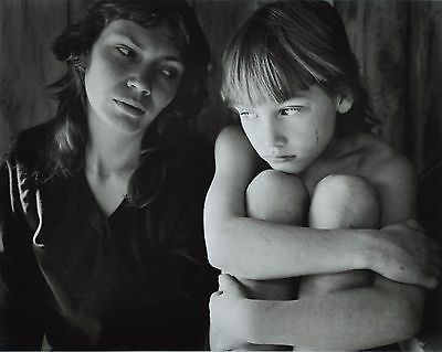 Jock Sturges Original XXL Photo Kunstdruck Art Print 73x67cm Mother & Child B&W