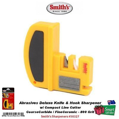 Smith's Abrasives Deluxe Knife & Hook Sharpener #50327