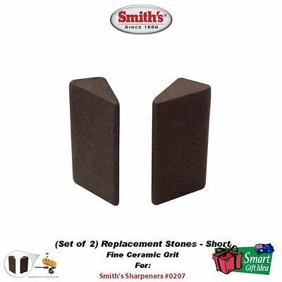 Smith's Fine Ceramic Replacement Stone, Short, Triangular #0207