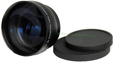 2x Telephoto 52mm Tele Lens for Canon EOS 20D 30D 40D Camera
