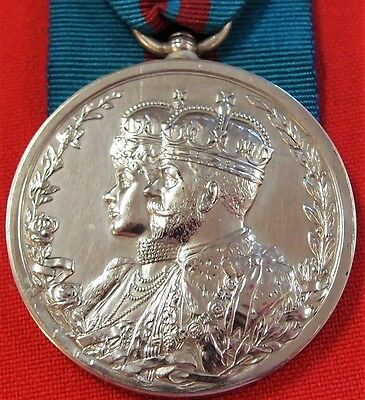 Vintage Pre Ww1 British King George V Delhi Durbar *coronation* Medal