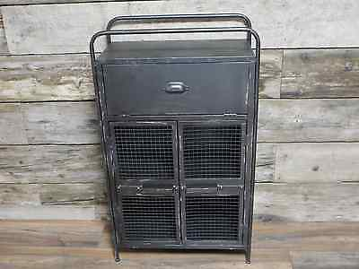 Vintage Industrial Metal,Retro Style Cabinet/Chest Of Drawers