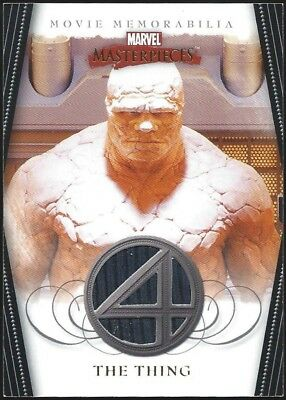 2008 UD Marvel Masterpieces 2 THE THING FANTASTIC FOUR COSTUME RELIC CARD