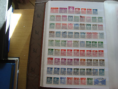 NORVEGE - 78 timbres obliteres stamp norway