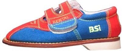 BSI Boys Suede Cosmic Rental Youth Boys Bowling Shoes Model 60001 Size 13