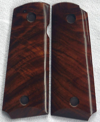 1911 COLT COCOBOLO GRIPS 4 COMPACT, OFFICER, Springfield & Kimber OF-86 NICE!!