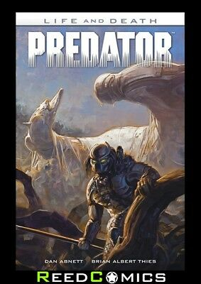 PREDATOR LIFE AND DEATH GRAPHIC NOVEL New Paperback Collects Issues #1-4