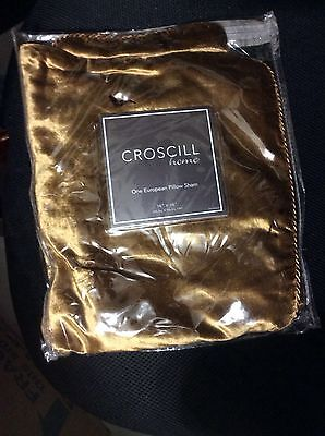 Croscill EXCELSIOR Euro Shams and Decorative Pillow